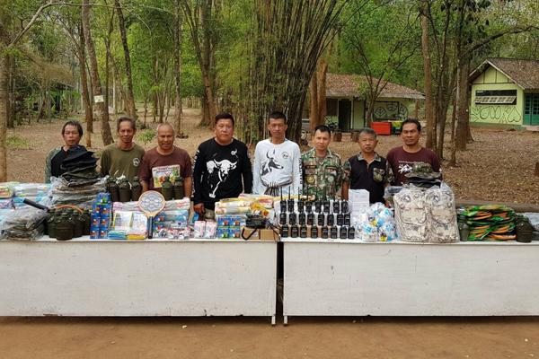 กลุ่มเพื่อน 23 ทำดีด้วยใจ มอบวิทยุสื่อสารเป้เดินป่าอุปกรณ์ยังชีพ ให้ศูนย์ศึกษาธรรมชาติและสัตว์ป่ากาญจนบุรี