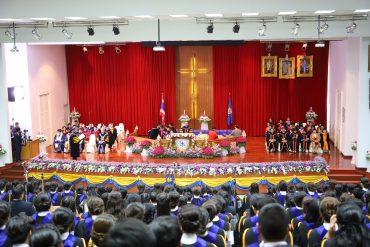 มหาวิทยาลัยคริสเตียน จัดพิธีประสาทปริญญาบัตร แก่ผู้สำเร็จการศึกษา ปีการศึกษา 2561