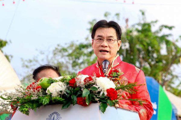รัฐมนตรี ว่าการกระทรวงพาณิชย์ เป็นประธานเปิดงานหอการค้านครปฐมแฟร์ 2020