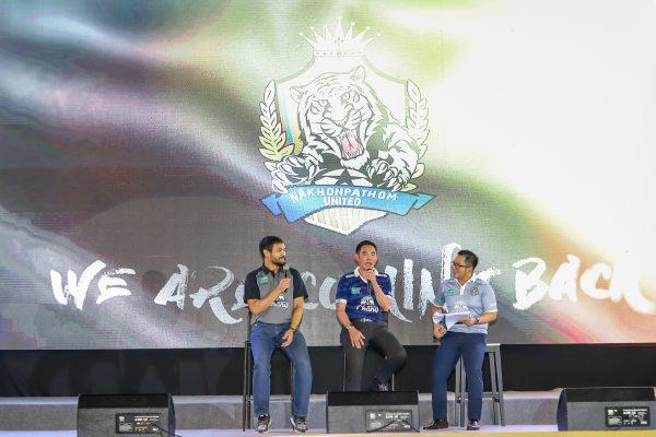 """นครปฐมยูไนเต็ด เปิดตัวนักเตะและชุดสู้ศึกไทยลีก 2 """" M-150 Championship 2020 """""""