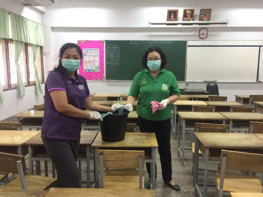 นครปฐม สาธารณสุขชื่นชมโรงเรียนดำเนินการป้องกันไข้หวัดใหญ่ สายพันธุ์ A และ B ในโรงเรียน ดูแลสุขภาพนักเรียนใกล้ชิด