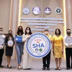 ททท.สำนักงานราชบุรี จัดพิธีมอบสัญลักษณ์ SHA แก่ผู้ประกอบการท่องเที่ยว จ.ราชบุรี ที่ผ่านเกณฑ์ประเมินมาตรฐาน SHA