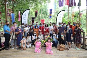 ราชบุรี คณะคาราวานท่องเที่ยวเส้นทางท่องเที่ยวปลอดภัย - ปลอดโรค Safety & Hygienic Roadtrip เยือนจังหวัดราชบุรีด้วยความประทับใจ