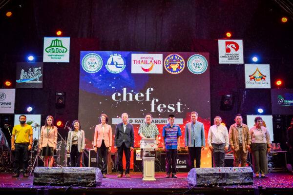 จังหวัดราชบุรีร่วมกับ ททท. เปิดงาน Chef Fest @Ratchaburi ยิ่งใหญ่